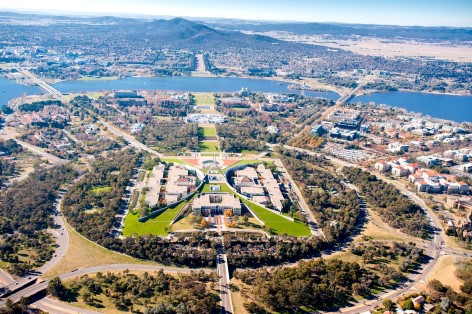 Canberra - The capitol of Australia