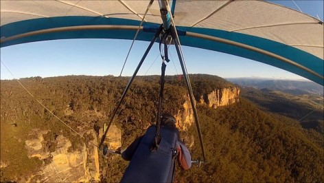 Mount Blackheath lookout - Book a hang glider trip - The ultimative adventure