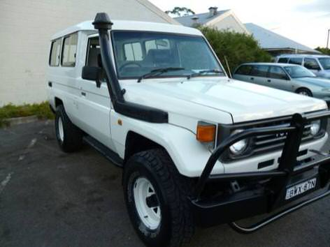 Used Toyota Land Cruiser for sale at our Sydney depot