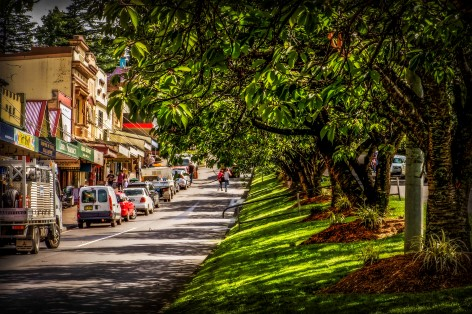 Leura - A Beautiful town in the Blue Mountains