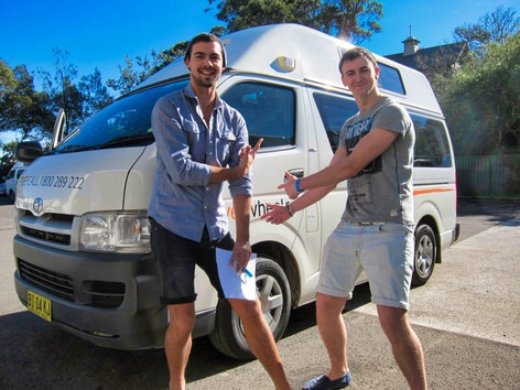 Toyota Hiace Campervan for sale or hire in Sydney