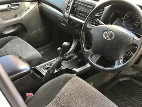 Used Toyota Prado for sale - manual transmission