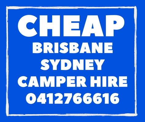 Cheap Campervan Hire Brisbane to Sydney deals