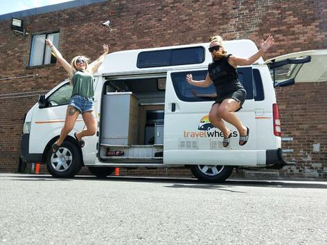 Travelwheels facebook review - happy customers jumping for joy!