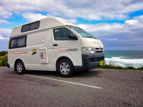 Ex-rental Toyota hiace campervans for sale - campervan by the sea