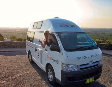 Toyota Hiace Campervan for sale Travelwheels Campervans