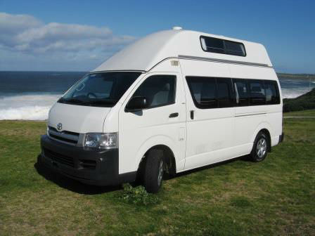 Toyota Hiace Campervans for sale