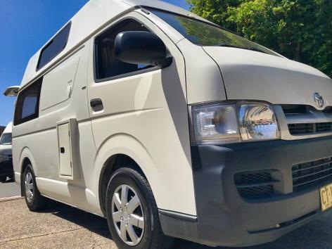 Cheap Ex-Rental Toyota Campervan for Sale