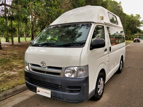 Toyota Hiace Used Campervan for sale in Sydney - front view