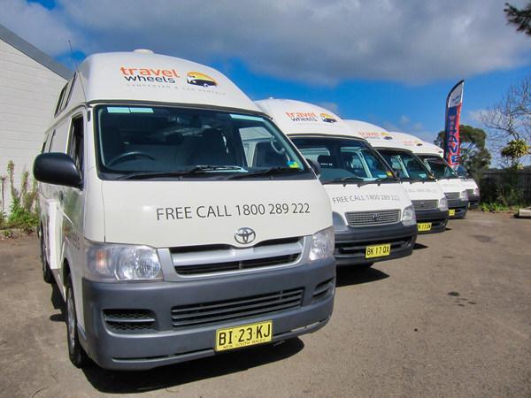 Used Toyota campervans for sale Sydney yard