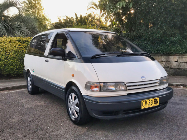 Toyota campervan for sale - front drivers side view