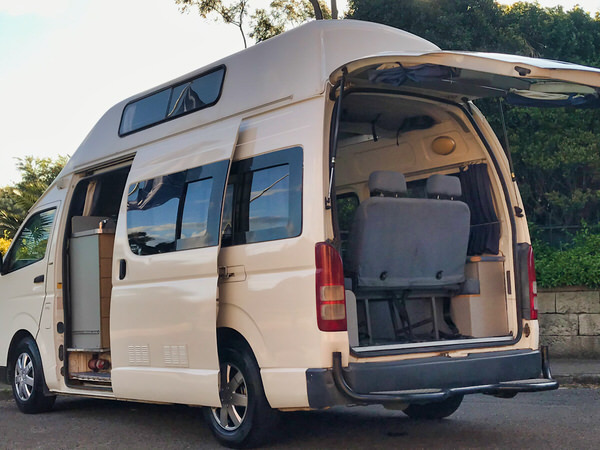 Toyota Hiace Campervan for sale - automatic spacious model