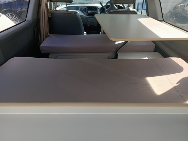 Toyota Tarago campervan - photo showing lounge area